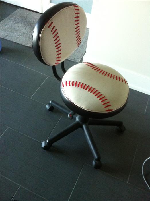 Baseball desk chair Saanich Victoria