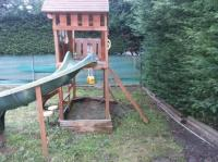 FREE: Big Backyard Childrens Playground with slide and ...
