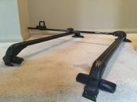 SportRack Mondial roof rack with Hammerhead bike rack ...
