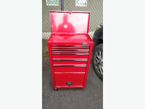 Canadian Tire Job Mate Tool Chest Nothing Sure Fancy But It Gets The Done No Big Dents Some Scratches In Paint