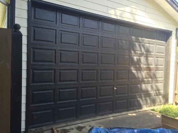 16x7 insulated aluminum garage door Central Nanaimo