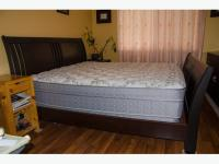 King size solid wood bedroom set Saanich, Victoria