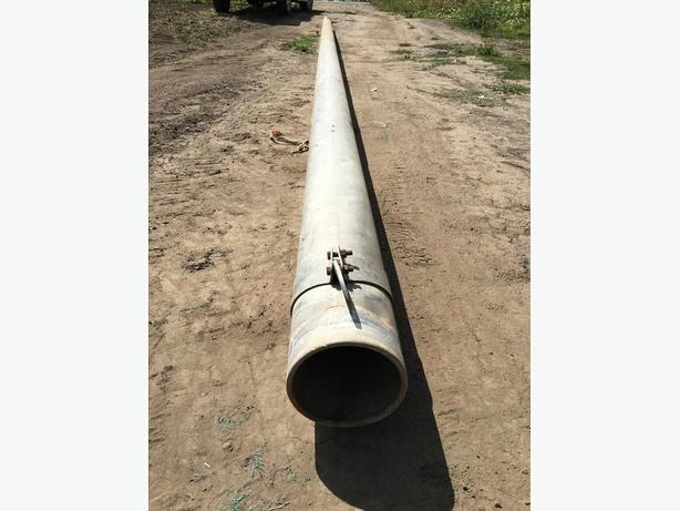 7 Inch Aluminum Irrigation Pipes Central Saanich, Victoria