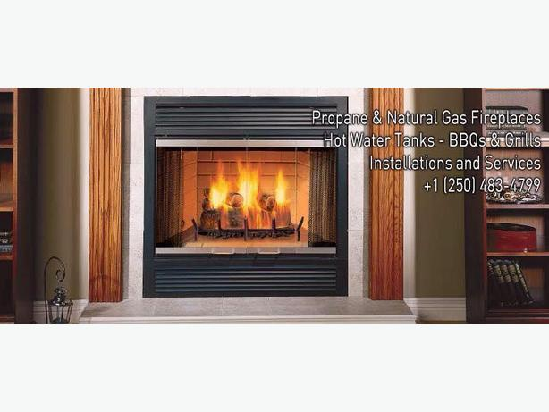 Propane and Natural Gas Fireplace Repair Victoria City