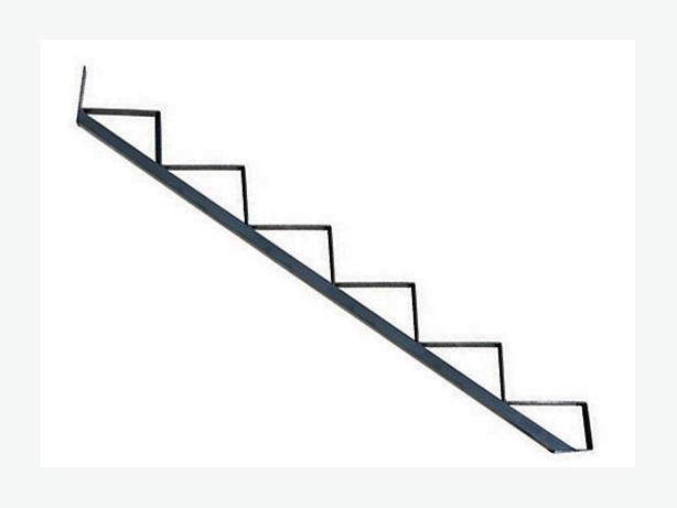 6-step steel stair risers (x3) West Regina, Regina