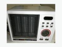 CERAMIC SAFETY FURNACE with heater, fan, timer and alarm ...