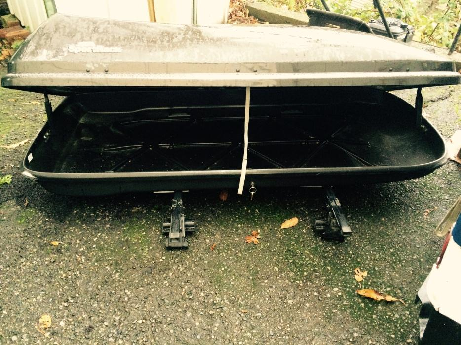 Container plus Roof Rack * SportRack Areo1600 * Victoria