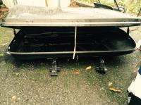 Container plus Roof Rack * SportRack Areo1600 * Victoria ...