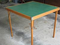 Vintage Wooden Folding Card Table Saanich, Victoria