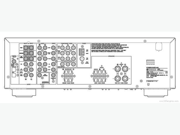 Yamaha HTR-5930SL 5.1-Channel Digital Home Theater
