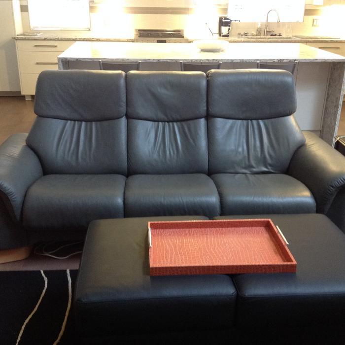 amazon sofa set 5 seater leg lifts stressless by ekornes 3 & matching recliner ...