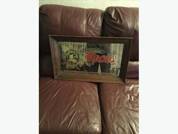 Coors Light Picture Frame