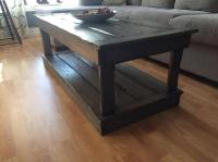 Rustic Coffee Table and end tables Kensington, PEI - MOBILE