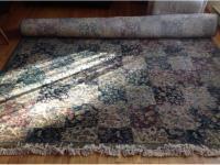 Authentic rug from Jordans North Saanich & Sidney , Victoria