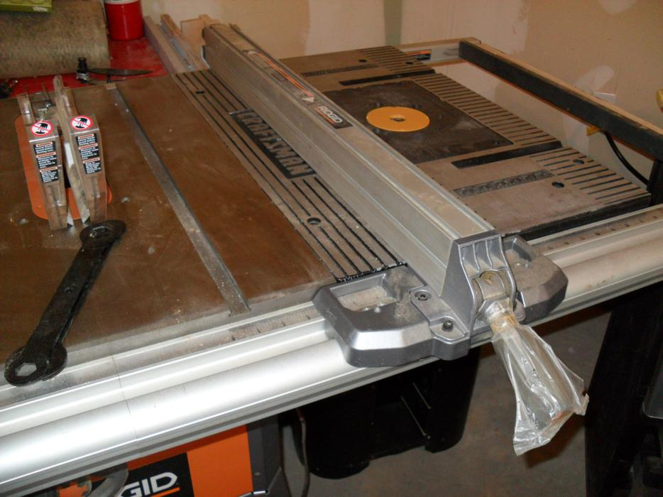 Ridgid Contractor 10 Quot Table Saw Amp Router Extension