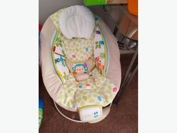 baby chair that vibrates home goods dining room chairs north regina