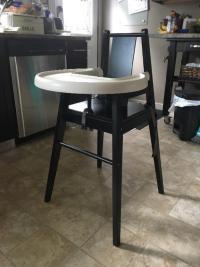 Ikea wooden high chair West Regina, Regina