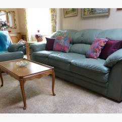 Sage Leather Sofa Corner Dundee Gumtree Palliser Amp Recliner Chair North Saanich