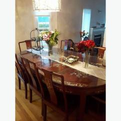 Chinese Rosewood Dining Table And Chairs Room Chair Styles Set 8 Richmond Vancouver