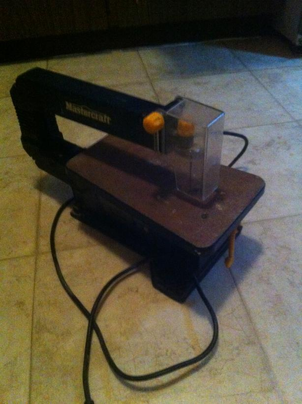 Mastercraft Scroll Saw