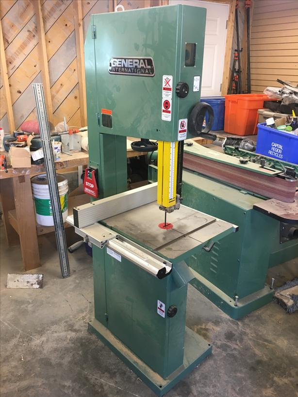 General Bandsaw For Sale
