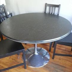 Kitchen Tables & More White Table Vintage Round Victoria City