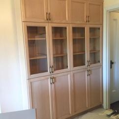 Full Kitchen Set Beach Themed Decor Solid Oak Cabinet Saanich Victoria