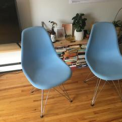 Blue Kitchen Chairs Best Touchless Faucet 2 Eames Style Victoria City