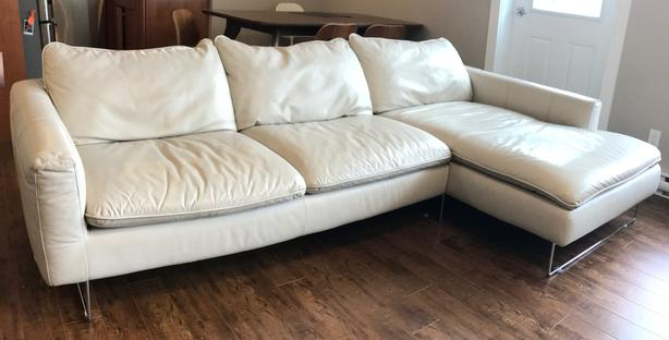 sectional sofa couch do they make slipcovers for reclining sofas mid century modern leather west shore langford
