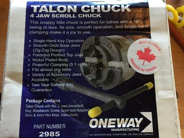 Oneway Talon Chuck Canada