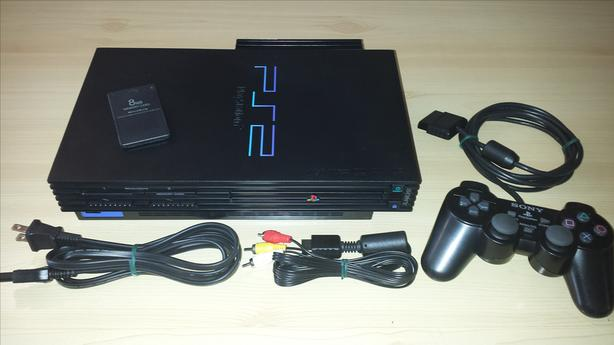 modded ps2 console w