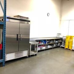 Kitchen For Rent Island Bar Lights Commercial Restaurant Shared Space