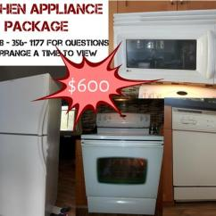 Kitchen Appliance Suites White Farmhouse Table And Chairs Package Mill Bay Cowichan