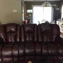 Lazy Boy Reclining Sofa And Loveseat Kebo Futon Bed Box Size Leather Amp Central Saanich Victoria