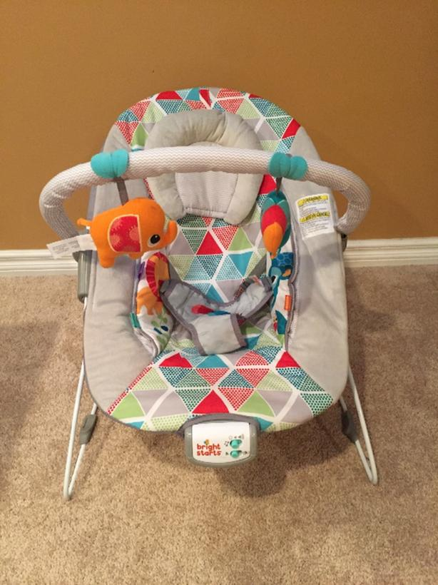 baby chair that vibrates two seat canopy swing chairs north regina