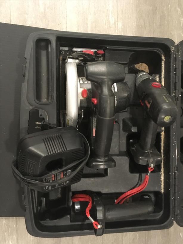Craftsman Power Tool Set 192