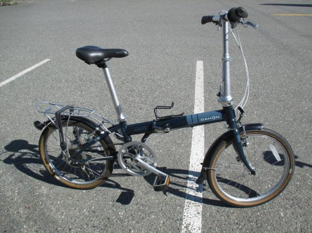 2 Dahon folding bikes with travel bags and trainer West ...