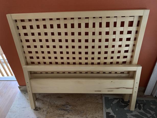 lit en pin ikea ottenby simple bed