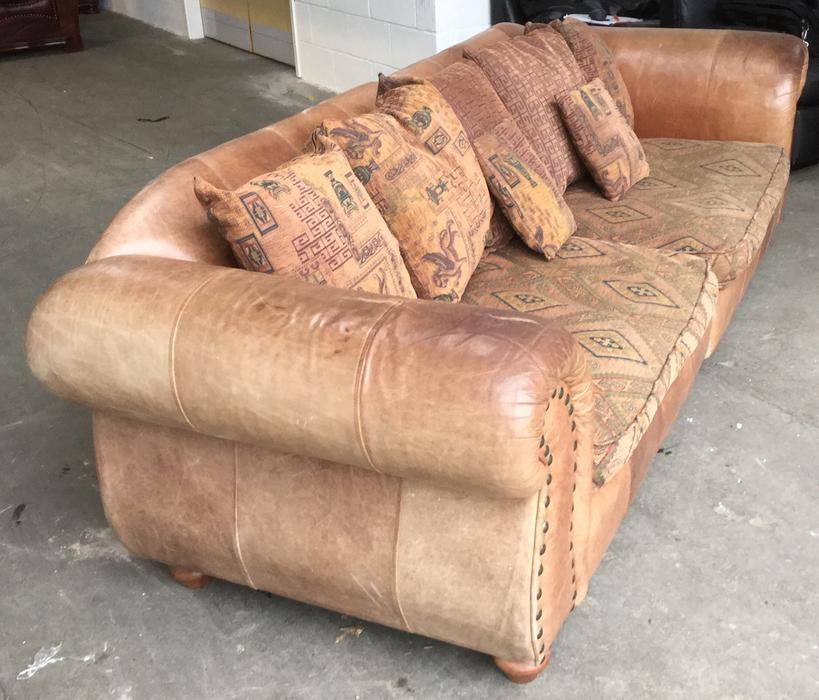 £1800 Thomas Lloyd Tetrad Style Luxury 4 Seat Sofa We