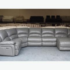 Electric Recliner Leather Sofas Uk Velvet Sofa Throws Ronson Dark Grey Corner With Chaise Lounge