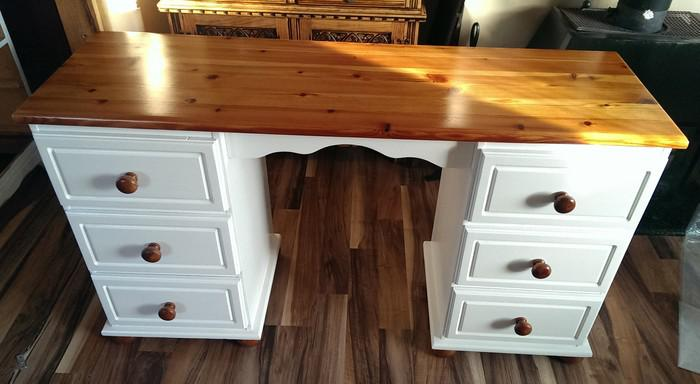 Solid Wood Shabby Chic Desk Dudley Dudley