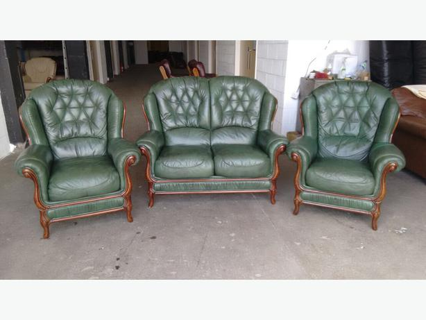 Leather Sofas With Wood Trim Uk