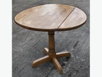 Round Pine Kitchen Table DUDLEY, Dudley