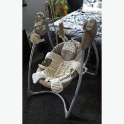 Graco Swing Chair Zebra Optometry And Stand For Sale Ziggy Loving Hug Oldbury Dudley