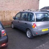 fiat multipla moted 6 seater with roof rack DUDLEY, Walsall