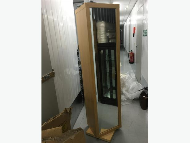 Rotating Mirror And Shelving Unit Wednesbury Dudley