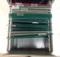 2 Draw Filing Cabinet Dark Grey - No key WALSALL, Dudley