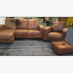 Distressed Leather Corner Sofa Uk Small Sectional Sofas Ottawa Natural Aniline Tan Set We Deliver Wide