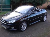 PEUGEOT 206 CC 1.6 CONVERTIBLE 2006 56 LOW MILEAGE Outside