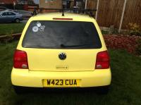 VW VOLKSWAGEN LUPO 1.0 EXTRA FEATURES SPEAKERS, ROOF RACK ...